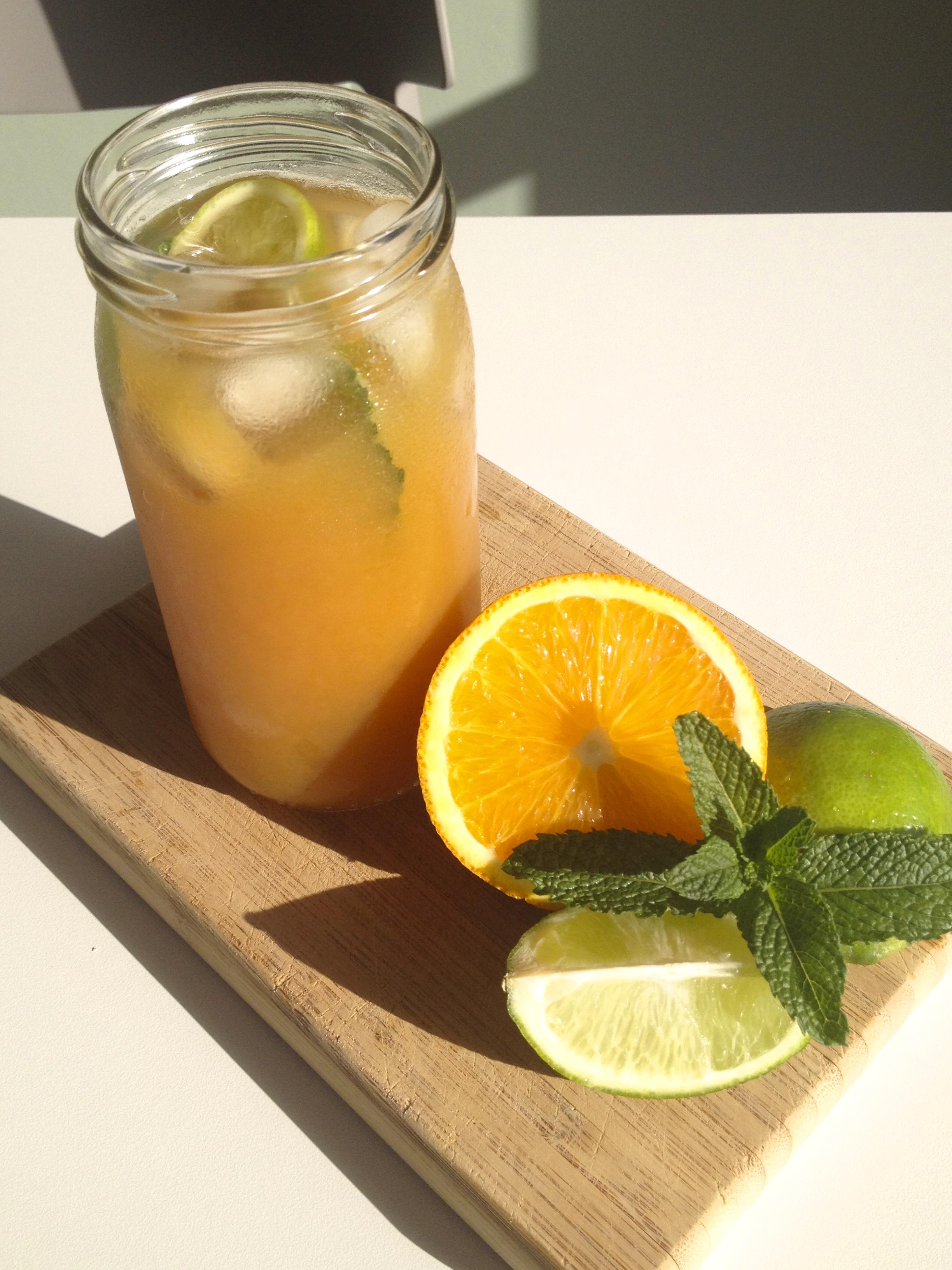 Chilled Citrus Chai